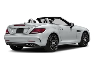 Iridium Silver Metallic 2017 Mercedes-Benz SLC Pictures SLC AMG SLC 43 Roadster photos rear view
