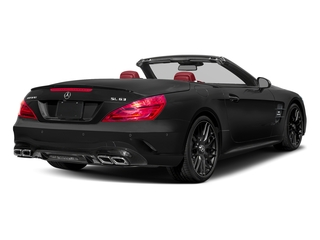 Obsidian Black Metallic 2017 Mercedes-Benz SL Pictures SL AMG SL 63 Roadster photos rear view