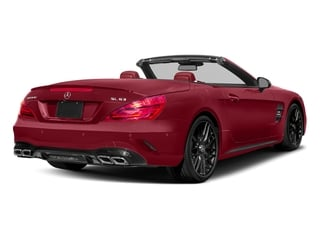 Mars Red 2017 Mercedes-Benz SL Pictures SL AMG SL 63 Roadster photos rear view