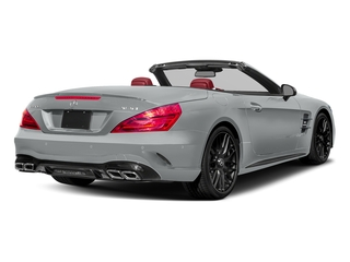 Iridium Silver Metallic 2017 Mercedes-Benz SL Pictures SL AMG SL 63 Roadster photos rear view
