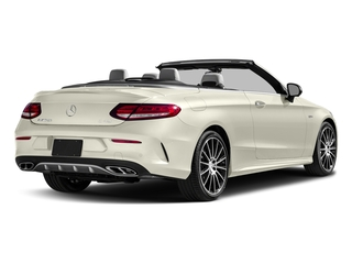 Polar White 2017 Mercedes-Benz C-Class Pictures C-Class AMG C 43 4MATIC Cabriolet photos rear view