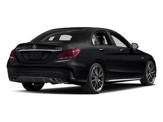 Black 2017 Mercedes-Benz C-Class Pictures C-Class Sedan 4D C43 AMG AWD V6 Turbo photos rear view