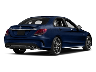 Brilliant Blue Metallic 2017 Mercedes-Benz C-Class Pictures C-Class Sedan 4D C43 AMG AWD V6 Turbo photos rear view
