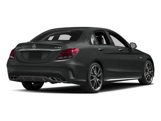 Selenite Grey Metallic 2017 Mercedes-Benz C-Class Pictures C-Class Sedan 4D C43 AMG AWD V6 Turbo photos rear view