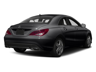 Cosmos Black Metallic 2017 Mercedes-Benz CLA Pictures CLA Sedan 4D CLA250 I4 Turbo photos rear view