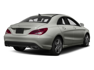 Polar Silver Metallic 2017 Mercedes-Benz CLA Pictures CLA Sedan 4D CLA250 I4 Turbo photos rear view