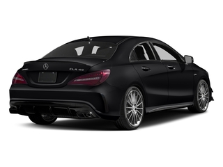 Cosmos Black Metallic 2017 Mercedes-Benz CLA Pictures CLA Sedan 4D CLA45 AMG AWD I4 Turbo photos rear view