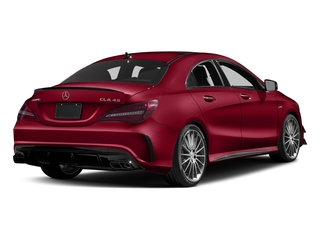 Jupiter Red 2017 Mercedes-Benz CLA Pictures CLA Sedan 4D CLA45 AMG AWD I4 Turbo photos rear view