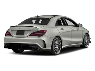 Polar Silver Metallic 2017 Mercedes-Benz CLA Pictures CLA Sedan 4D CLA45 AMG AWD I4 Turbo photos rear view