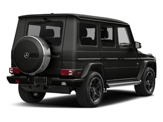 designo Magno Night Black (Matte Finish) 2017 Mercedes-Benz G-Class Pictures G-Class 4 Door Utility 4Matic photos rear view