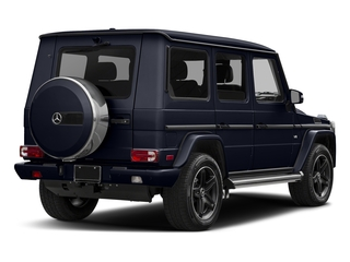 Capri Blue Metallic 2017 Mercedes-Benz G-Class Pictures G-Class 4 Door Utility 4Matic photos rear view