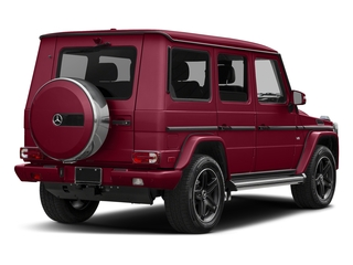 Storm Red Metallic 2017 Mercedes-Benz G-Class Pictures G-Class 4 Door Utility 4Matic photos rear view