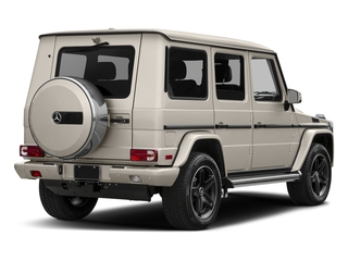 Desert Silver 2017 Mercedes-Benz G-Class Pictures G-Class 4 Door Utility 4Matic photos rear view