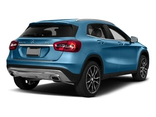 South Seas Blue Metallic 2017 Mercedes-Benz GLA Pictures GLA GLA 250 4MATIC SUV photos rear view