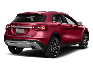 Jupiter Red 2017 Mercedes-Benz GLA Pictures GLA GLA 250 4MATIC SUV photos rear view