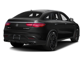 Obsidian Black Metallic 2017 Mercedes-Benz GLE Pictures GLE AMG GLE 63 S 4MATIC Coupe photos rear view