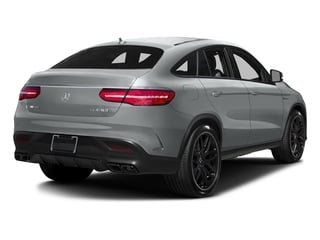 Iridium Silver Metallic 2017 Mercedes-Benz GLE Pictures GLE AMG GLE 63 S 4MATIC Coupe photos rear view