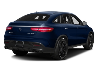 Brilliant Blue Metallic 2017 Mercedes-Benz GLE Pictures GLE AMG GLE 63 S 4MATIC Coupe photos rear view