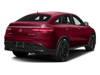 designo Cardinal Red Metallic 2017 Mercedes-Benz GLE Pictures GLE AMG GLE 63 S 4MATIC Coupe photos rear view