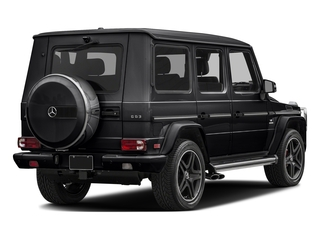 Black 2017 Mercedes-Benz G-Class Pictures G-Class AMG G 63 4MATIC SUV photos rear view