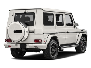 designo Mystic White Metallic 2017 Mercedes-Benz G-Class Pictures G-Class AMG G 63 4MATIC SUV photos rear view