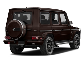 designo Mystic Brown 2017 Mercedes-Benz G-Class Pictures G-Class AMG G 63 4MATIC SUV photos rear view