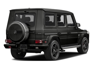 designo Magno Night Black (Matte Finish) 2017 Mercedes-Benz G-Class Pictures G-Class AMG G 63 4MATIC SUV photos rear view