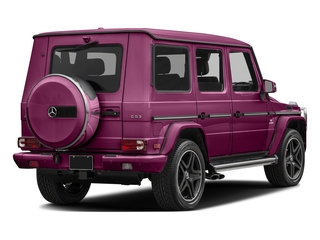 Galaticbeam 2017 Mercedes-Benz G-Class Pictures G-Class AMG G 63 4MATIC SUV photos rear view