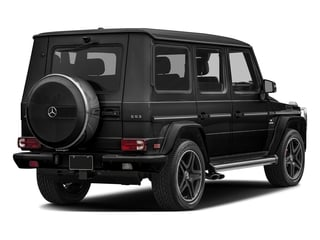 Magnetite Black Metallic 2017 Mercedes-Benz G-Class Pictures G-Class AMG G 63 4MATIC SUV photos rear view