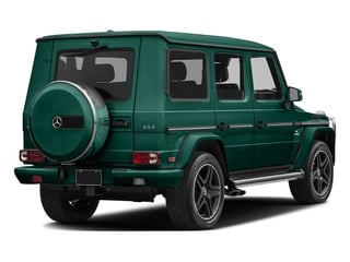 designo Olive Magno (Matte Finish) 2017 Mercedes-Benz G-Class Pictures G-Class AMG G 63 4MATIC SUV photos rear view