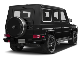 Magnetite Black Metallic 2017 Mercedes-Benz G-Class Pictures G-Class 4 Door Utility 4Matic photos rear view