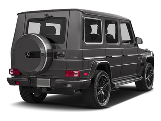 Tectite Grey Metallic 2017 Mercedes-Benz G-Class Pictures G-Class AMG G 65 4MATIC SUV photos rear view