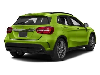 Kryptonite Green Metallic 2017 Mercedes-Benz GLA Pictures GLA Utility 4D GLA45 AMG AWD I4 Turbo photos rear view