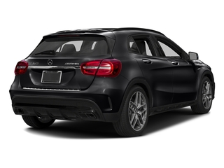 Night Black 2017 Mercedes-Benz GLA Pictures GLA AMG GLA 45 4MATIC SUV photos rear view