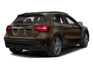 Cocoa Brown Metallic 2017 Mercedes-Benz GLA Pictures GLA Utility 4D GLA45 AMG AWD I4 Turbo photos rear view