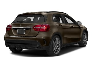 Cocoa Brown Metallic 2017 Mercedes-Benz GLA Pictures GLA AMG GLA 45 4MATIC SUV photos rear view