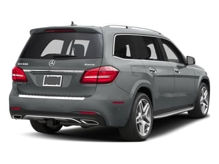 Iridium Silver Metallic 2017 Mercedes-Benz GLS Pictures GLS Utility 4D GLS550 AWD V8 Turbo photos rear view
