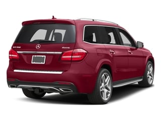 designo Cardinal Red Metallic 2017 Mercedes-Benz GLS Pictures GLS Utility 4D GLS550 AWD V8 Turbo photos rear view