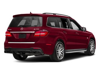 designo Cardinal Red Metallic 2017 Mercedes-Benz GLS Pictures GLS Utility 4D GLS63 AMG AWD V8 Turbo photos rear view