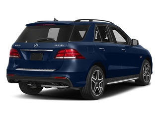 Brilliant Blue Metallic 2017 Mercedes-Benz GLE Pictures GLE Utility 4D GLE43 AMG AWD V6 photos rear view