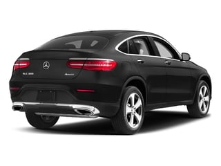 Obsidian Black Metallic 2017 Mercedes-Benz GLC Pictures GLC Util 4D GLC300 Sport Coupe AWD I4 photos rear view