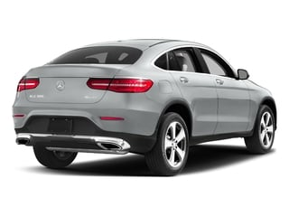 Iridium Silver Metallic 2017 Mercedes-Benz GLC Pictures GLC Util 4D GLC300 Sport Coupe AWD I4 photos rear view