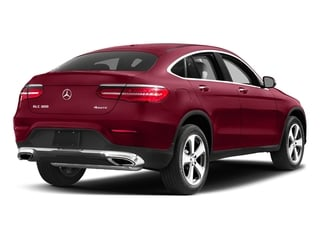 designo Cardinal Red Metallic 2017 Mercedes-Benz GLC Pictures GLC Util 4D GLC300 Sport Coupe AWD I4 photos rear view