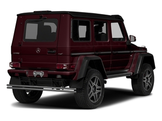designo Mystic Red 2017 Mercedes-Benz G-Class Pictures G-Class G 550 4x4 Squared SUV photos rear view