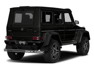 designo Magno Night Black (Matte Finish) 2017 Mercedes-Benz G-Class Pictures G-Class G 550 4x4 Squared SUV photos rear view