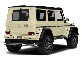 Light Ivory 2017 Mercedes-Benz G-Class Pictures G-Class G 550 4x4 Squared SUV photos rear view
