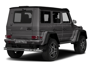 Tectite Grey Metallic 2017 Mercedes-Benz G-Class Pictures G-Class G 550 4x4 Squared SUV photos rear view