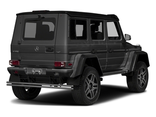 Steel Grey Metallic 2017 Mercedes-Benz G-Class Pictures G-Class G 550 4x4 Squared SUV photos rear view
