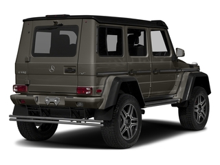 designo Sintered Bronze Magno (Matte Finish) 2017 Mercedes-Benz G-Class Pictures G-Class G 550 4x4 Squared SUV photos rear view