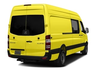 Calcite Yellow Metallic 2017 Mercedes-Benz Sprinter Crew Van Pictures Sprinter Crew Van 2500 High Roof I4 170 RWD photos rear view